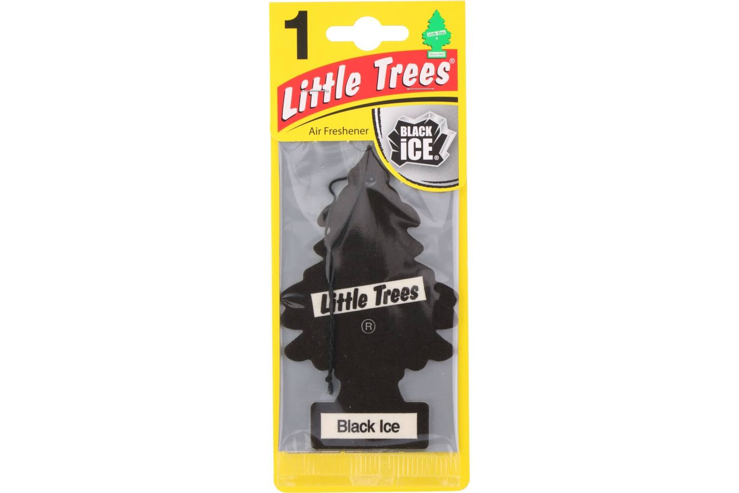 Air freshener, Little tree, black ice 1