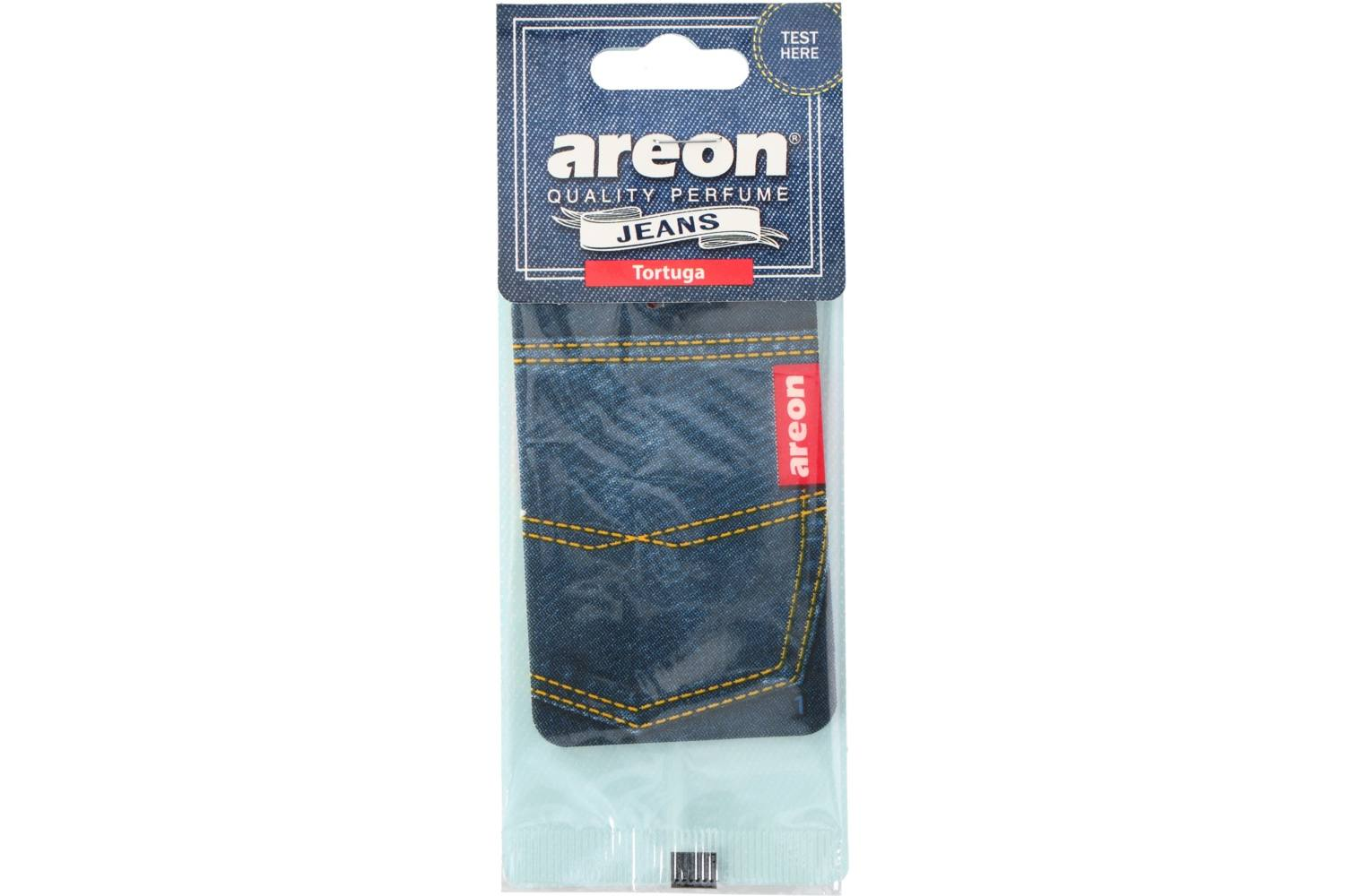 Air freshener, Areon Jeans, tortuga 1