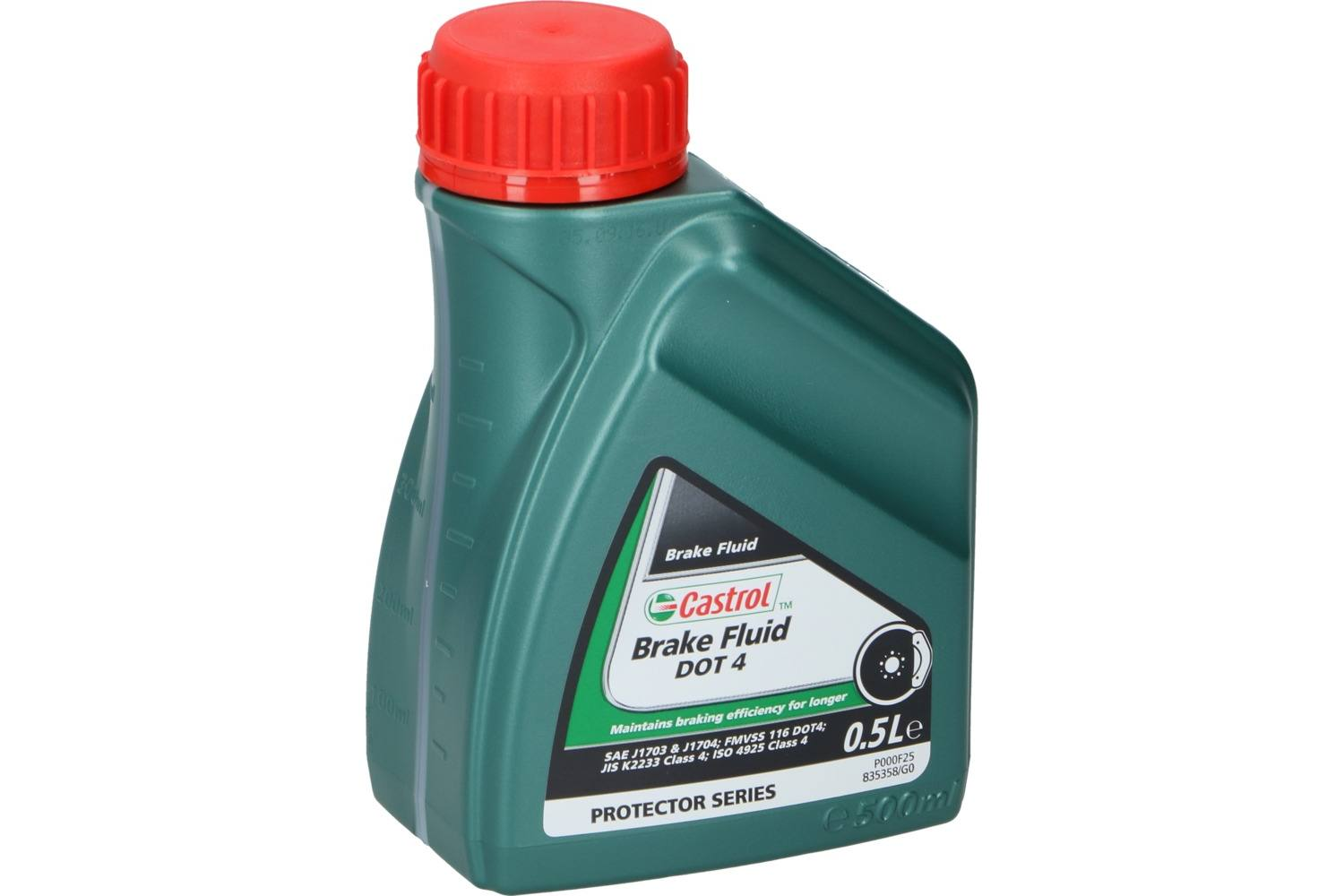 Brake fluid, Castrol, DOT 4, 500ml 1