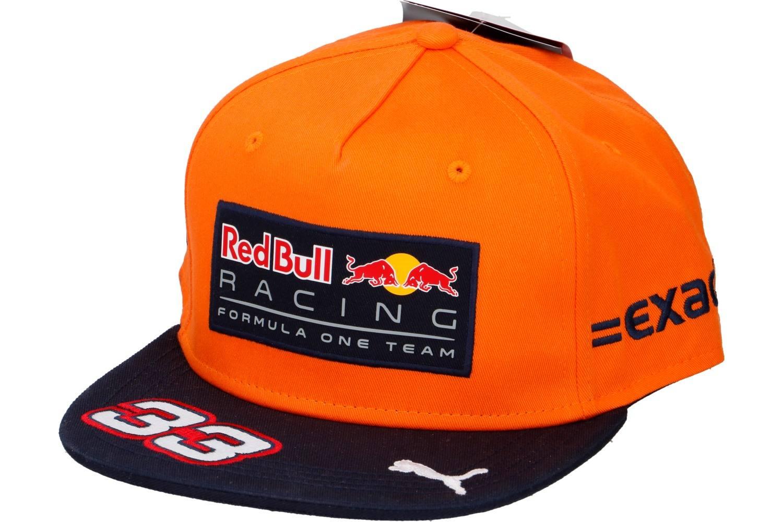 Royaume-Uni disponibilité 597c8 7c4cd Cap snapback, Red Bull Racing, Max Verstappen, orange