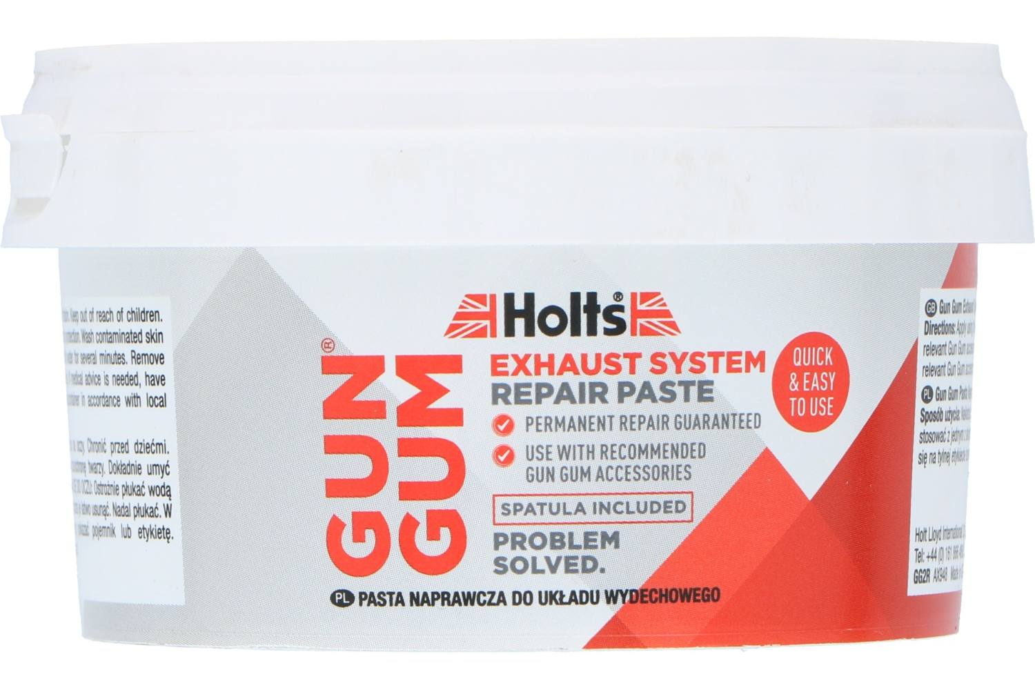 Exhaust repair putty, Holts Gun Gum, 200g 2