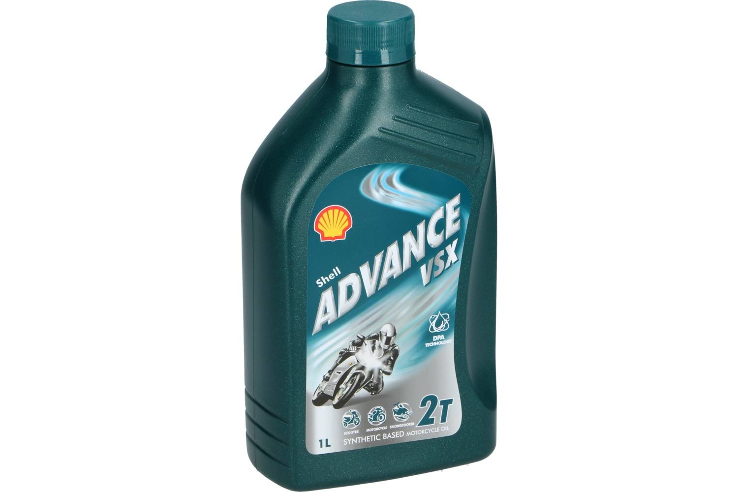 Motor oil, Shell Advance, 2-takt olie vsx, 1l 1