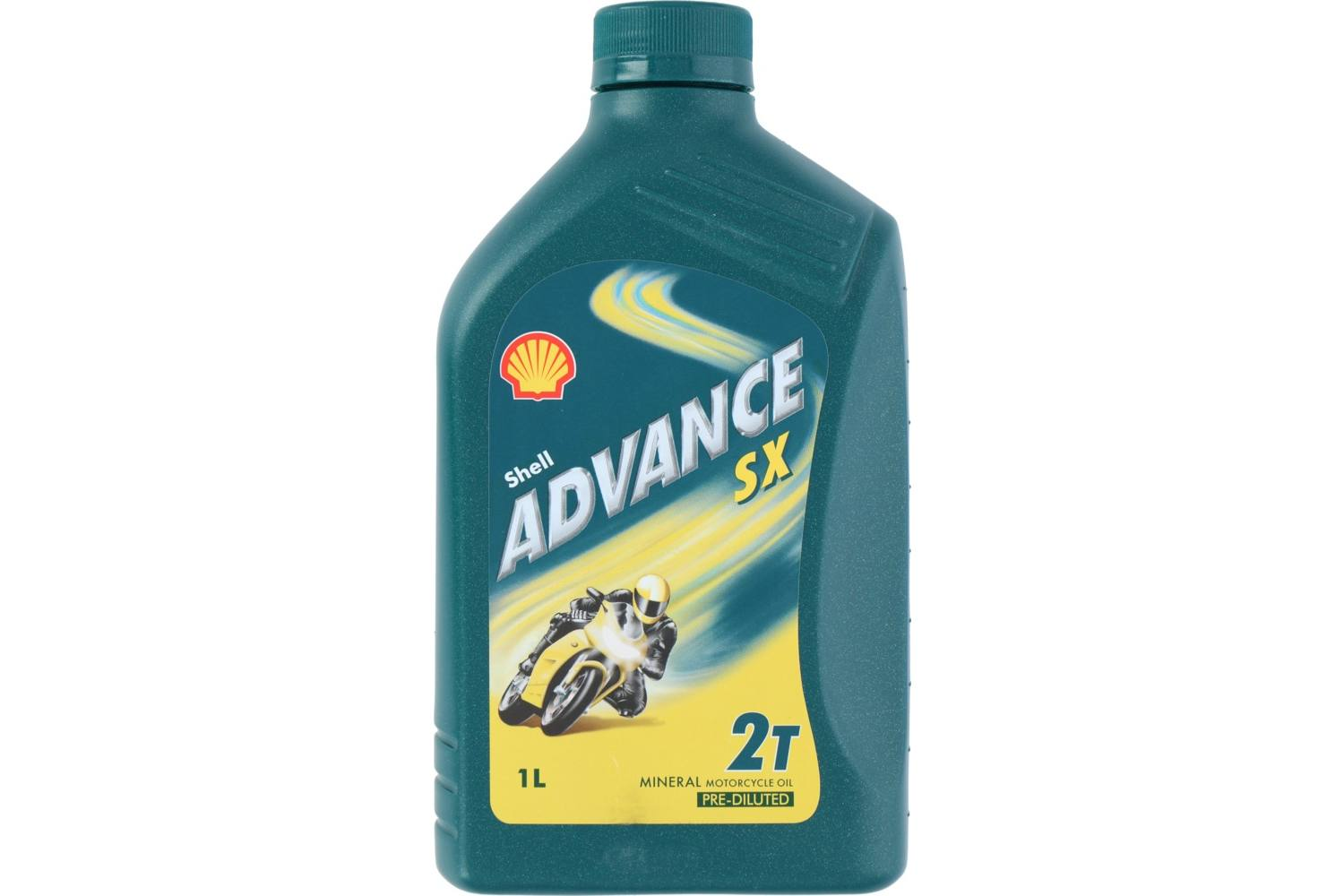Motor oil, Shell Advance, 2T SX, 1l 2
