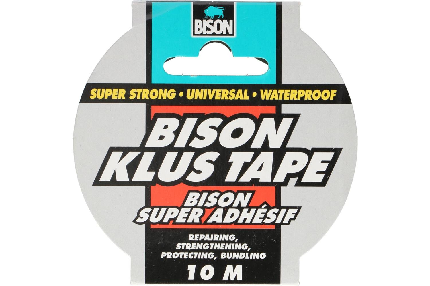 Tape, Bison, heavy duty, l 10m 2