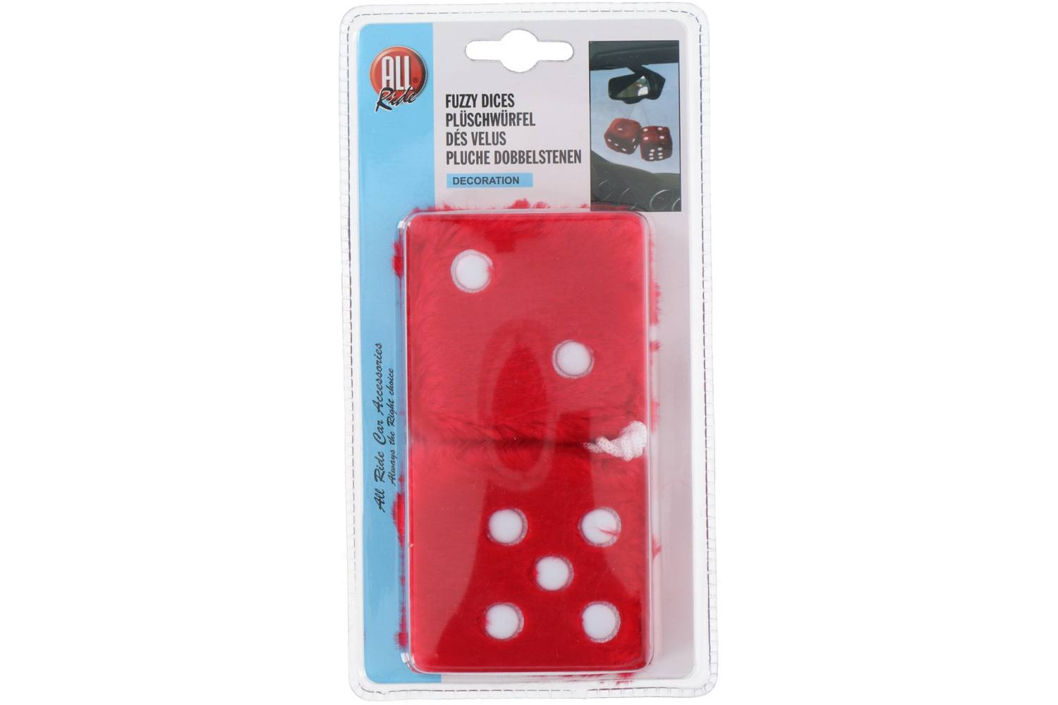 Dice, AllRide, plush, red 1
