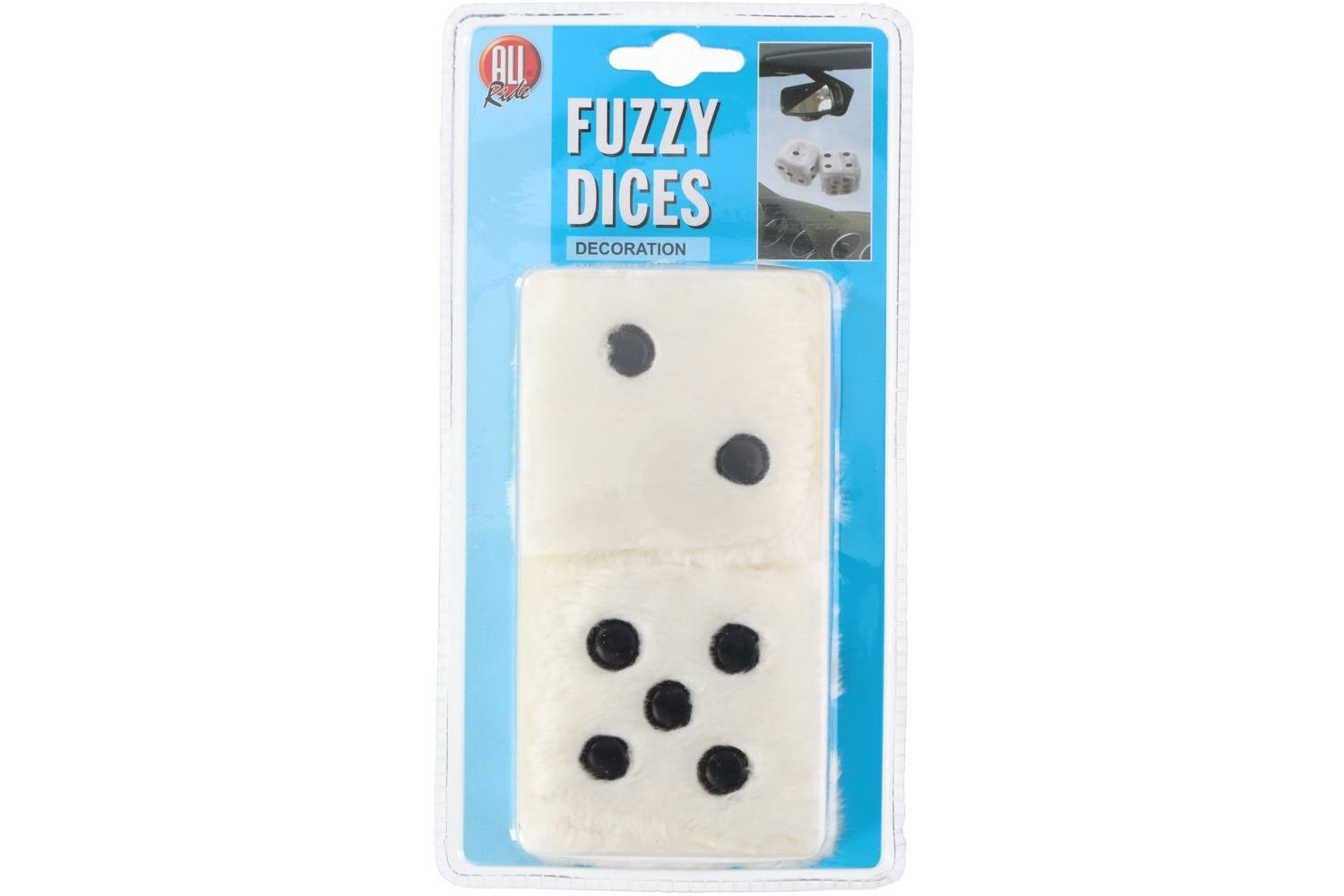 Dice, AllRide, plush, white 1