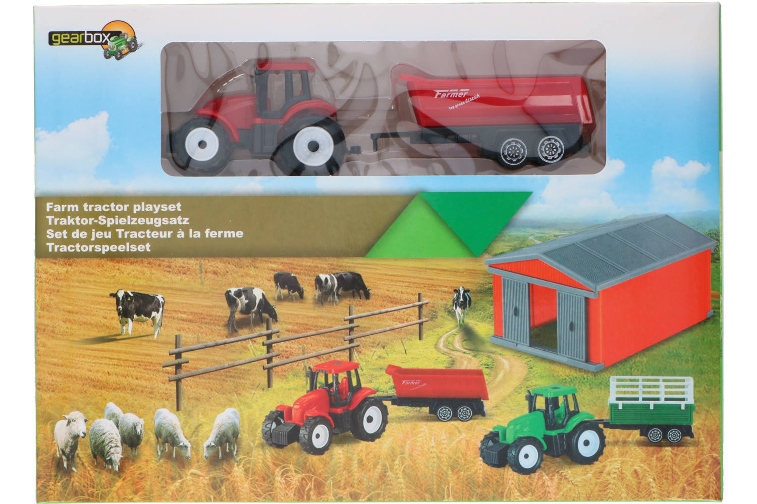 Farm playset, Gearbox, 2 assorted 2