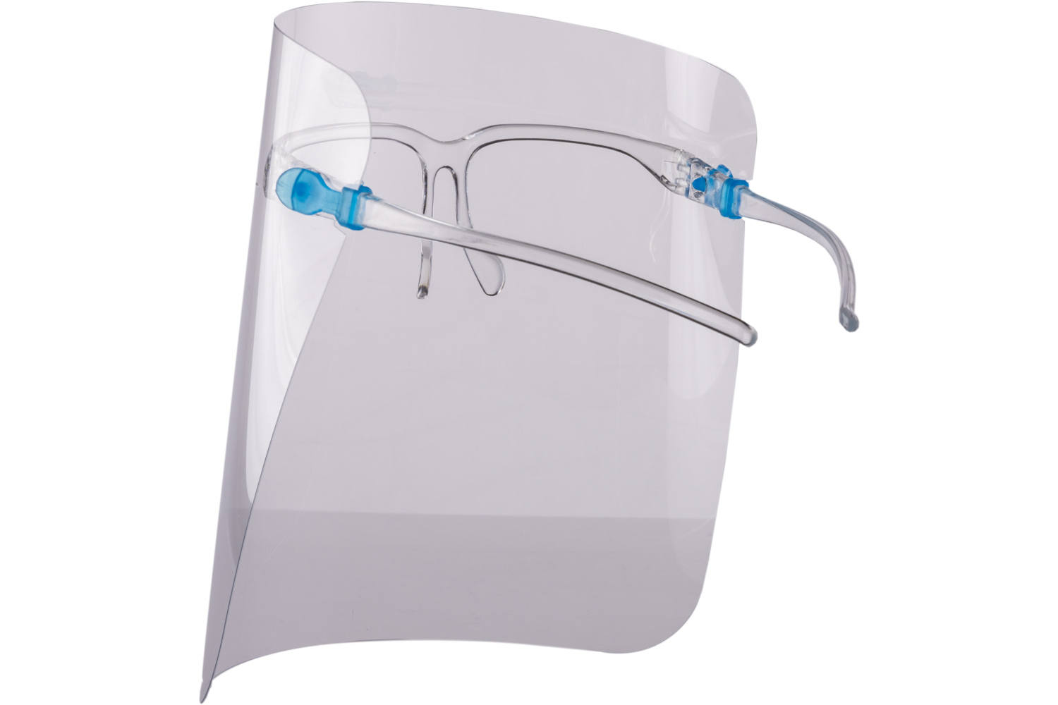 Face shield, Newco, spectacle frame 2