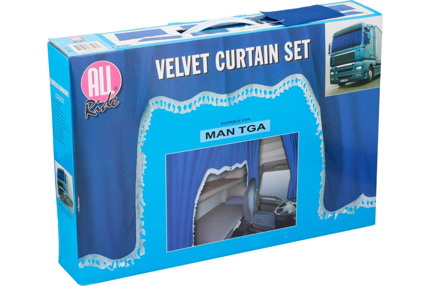 Curtain set, AllRide, MAN TGA 1
