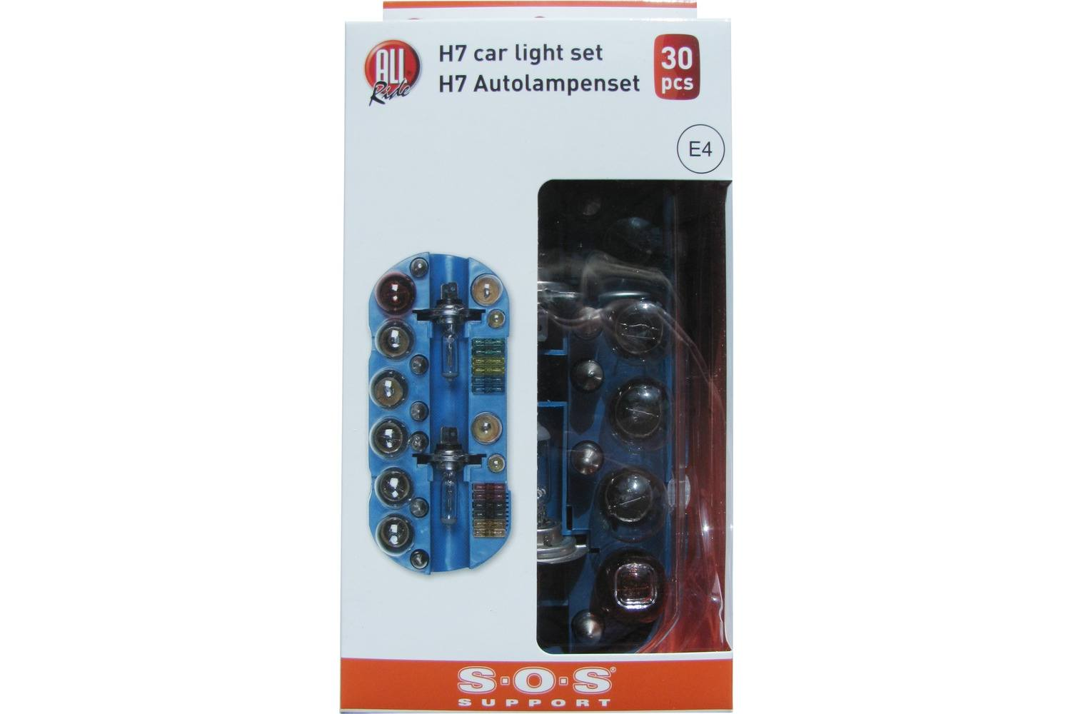 Car bulb set, AllRide SOS support, H7, 30 pieces 3