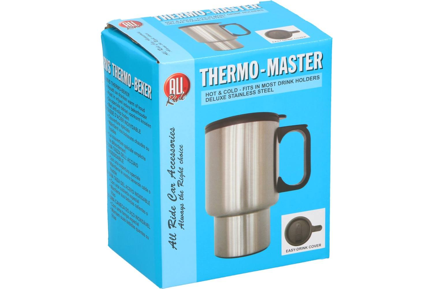 Thermo-mug, AllRide, stainless steel 1