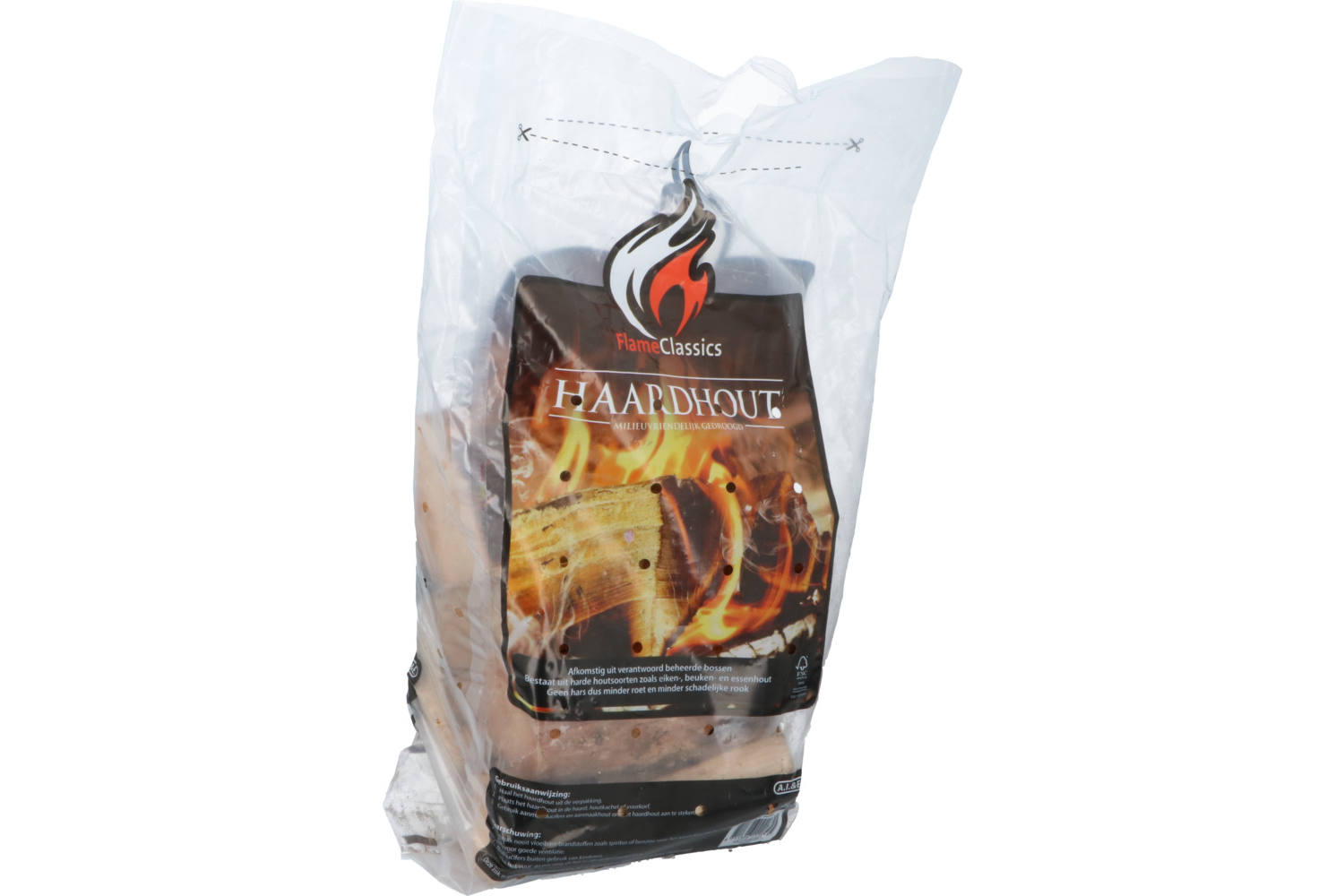 Fireplace wood, Flame Classics, in plastic bag 1