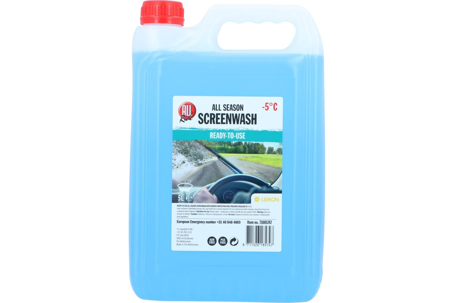 Screenwash, AllRide, all season, 5l, -5, ready to use 2