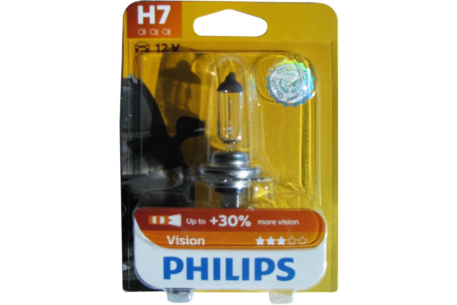Car bulb, Philips, premium, 12V, H7 2