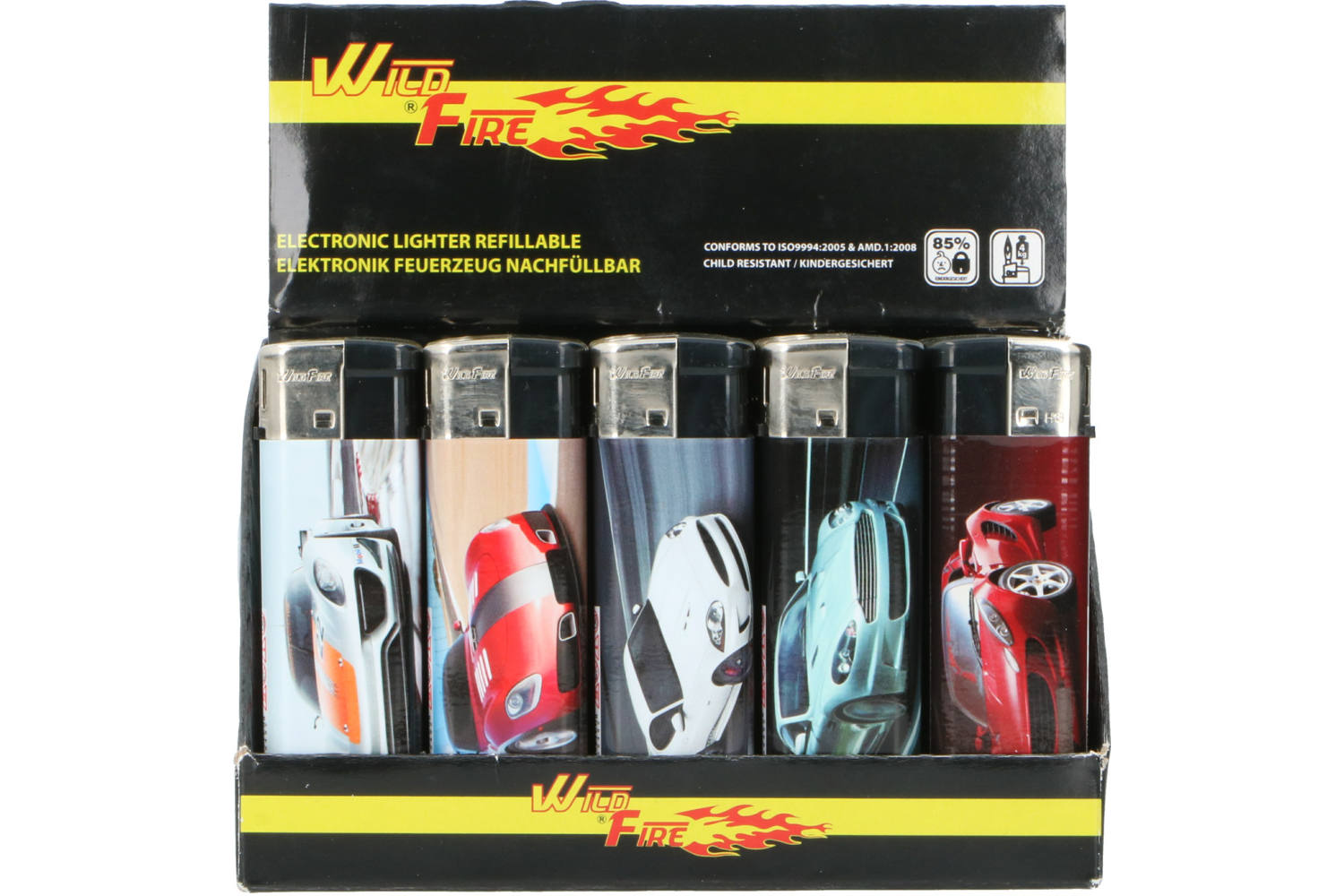 Lighter, WILD FIRE, car, electric, 50 pieces 2