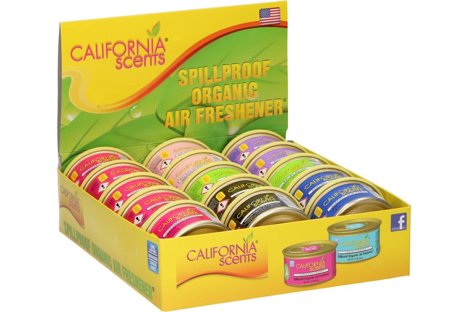 Display, California Scents, Air freshener, counter, 15 pieces 1