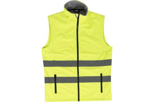 Safety vest, Terrax, yellow, XL 1