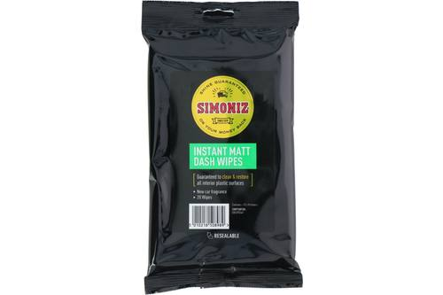 Cleaning wipes, Simoniz, dashboard 1