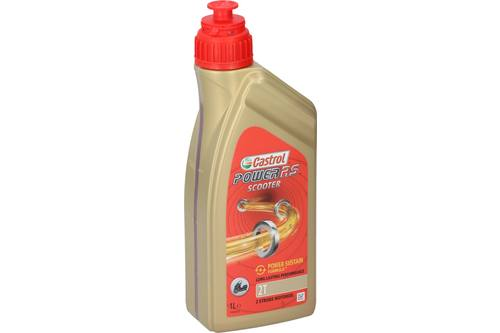 Motor oil, Castrol power rs scooter, 2T, 1l 1