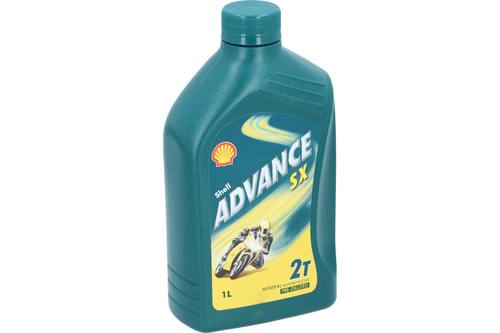 Motor oil, Shell Advance, 2T SX, 1l 1