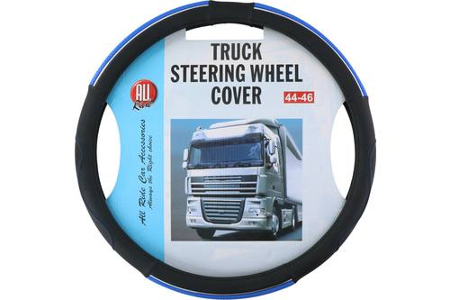 Steering wheel cover, AllRide, blue/black, 44-46 1