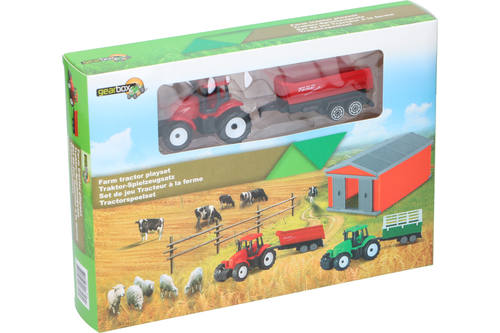 Farm playset, Gearbox, 2 assorted 1