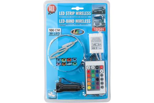 Led strip, AllRide, 12-24V, 30led, 100cm 1
