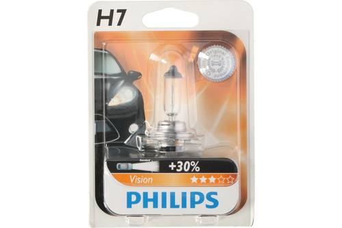 Car bulb, Philips, premium, 12V, H7 1