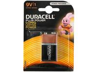 Battery, Duracell Plus Power, 9V, 1 pieces, 6LP3146 / MN1604 1