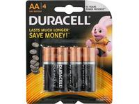 Battery, Duracell Plus Power, AA, 4 pieces, LR06 / MN1500 1