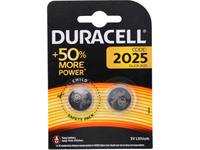 Battery, Duracell, 2025, 2 pieces, DL2025 / CR2025 1