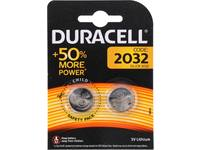 Battery, Duracell, 2032, 2 pieces, DL2032 / CR2032 1