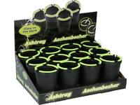 Ashtray, Newco, black, glow in the dark 1